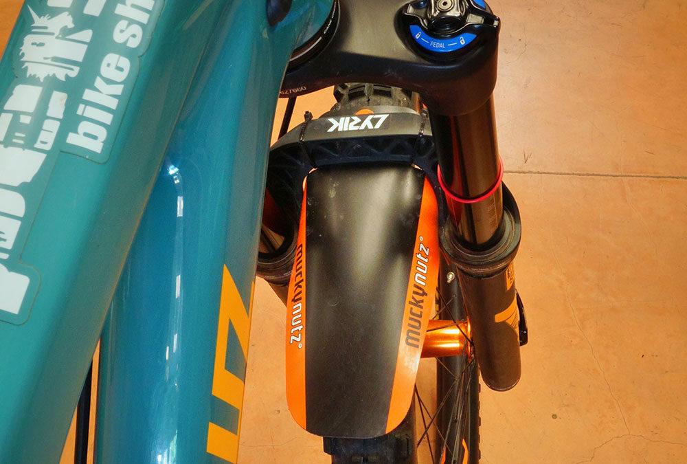 Zip-Tie Mounted Front Fenders